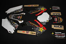 HONDA CRF450R 2009-12 & CRF250R 2010-13 ROCKSTAR MX GRAPHICS KIT STICKER KIT