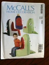 McCall's Pattern 6856 Children's Animal Themed Seats chairs furniture bedroom