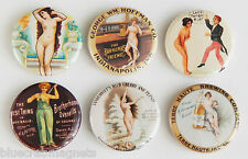 Nude Woman FRIDGE MAGNET Set (1.25 inches each)