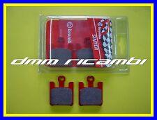 Pastiglie freno anteriori BREMBO SA SUZUKI GSX-R 1000 '03 rosse GSXR K3 2003