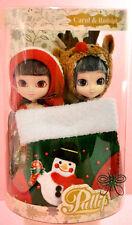 2005 Mini Carol & Rudolph Pullip dolls Christmas In Stock Now.