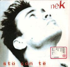 NEK - sto con te PROMO CD SINGLE Italy SIAE 1998 RARE!!
