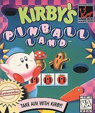 GRT Kirby's Pinball Land TESTED Nintendo Game Boy, GB Color, Pocket, Advance