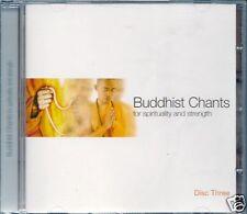 CD ALBUM-BUDDHIST CHANTS VOL 3-SPIRITUALITY & STRENGTH