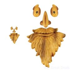 Tree Outdoor Faces Old Man Face Yard Home Garden Decor Nose Mouth Character Eyes