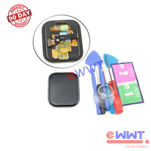 Replacement Black Full LCD Screen +Tools for Amazfit GTS 2019 Smartwatch GQLP006