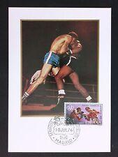 SPAIN MK 1976 OLYMPIA BOXEN BOXING OLYMPICS MAXIMUMKARTE MAXIMUM CARD MC c8788