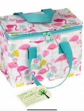 Flamingo bay insulated cooler lunch bag lunch box school picnic ladies gift food