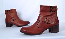 NEW!! Paul Green Moto Boot - Brown-  Size 8 US/ 5.5 AU  $425  (BX5)