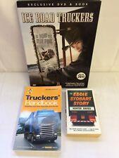 x 3 Ice Truckers DVD & Book ,Haynes Handbook, Eddie Stobart Story Good  FREE P&P