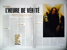 COUPURE DE PRESSE-CLIPPING :  SEETHER [2pages] 02/2003 Shaun Morgan,Disclaimer
