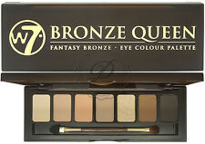 W7 Bronze Queen Eyeshadow Palette - Shimmer Matte Browns Colour