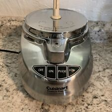 CUISINART PREP 11  FOOD PROCESSOR CHOPPER BASE, WORKS GREAT