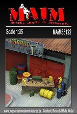 MAIM WORKSHOP GARAGE TOOLS & ACCESSORIES SCALA 1:35 COD.ART.35122