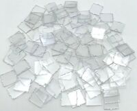 Lego 100 New Trans-Clear Glass for Window 1 x 2 x 2 Transparent Pieces