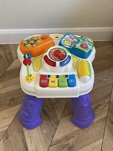 vtech baby play learn activity table