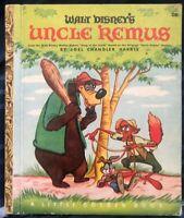 Uncle Remus, A Little Golden Book,1947(VINTAGE Walt Disney; Brown Binding)