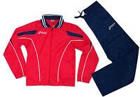 Asics T215Z5.2650 Damen Trainingsanzug Suit Luna Lady Rot/Blau Größe M