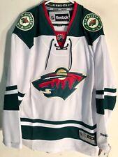 Reebok Premier NHL Jersey Minnesota Wild Team White sz L
