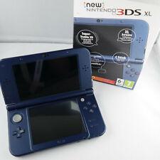 New Nintendo 3DS XL Metallic Blau - 32GB - IPS oben - guter Zustand