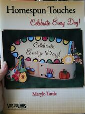 Decorative Tole Painting Pattern Book Homespun Toucjes Celebrate Every Day !
