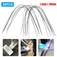 Easy Melt Welding Rods Low Temperature Aluminum Wire 5//10pcs 1.6mm Brazing D4V0
