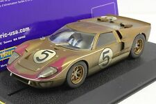 SCALEXTRIC C2465 GOODWOOD FORD GT40 W/LIGHTS NEW 1/32 SLOT CAR