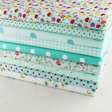 "Craft 9 Assorted Pre Cut Charm 10"" Squares Quilt DIY Cotton Fabric"