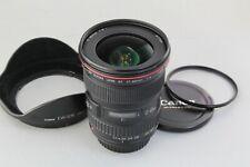 Excellent++ Canon EF 17-40mm F/4 L USM lens w/ hood