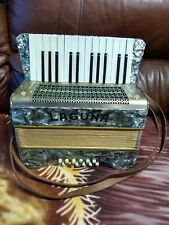 Vintage COMPACT Accordion Harmonium MADE by Laguna.