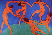 A4 260gsm Glossy Wall Art Poster Print , The Dance by Henri Matisse