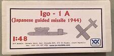 AV Models 1:48 Igo-1A Japanese Guided Missile 1944 AV4805