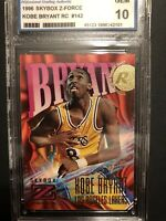 1996 Skybox Z Force Kobe Bryant Los Angeles Lakers #142 Basketball Card