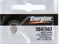 Energizer 364/363 SR621W SR621SW 1pc Battery Ships from USA Authorized Seller