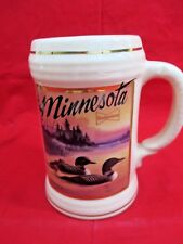 1991 Budweiser Stein, Minnesota Wildlife LOON SO53143 #1875
