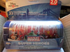 CASE LOT OF 24 PDP Disney Infinity 2.0 Power Discs Capsule, New, Free Shipping