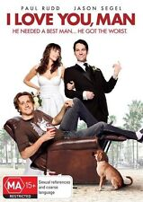 I Love You, Man DVD OUTSTANDING FILM Paul Rudd BRAND NEW Region 4