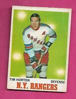 1970-71 OPC # 59 RANGERS TIM HORTON GOOD CARD (INV# C5501)