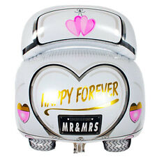 Palloncino pallone gonfiabile Wedding Car Happy Forever matrimonio festa nozze
