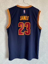 NBA CLEVELAND CAVALIERS LEBRON JAMES #23 BASKETBALL SHIRT JERSEY ADIDAS SIZE M