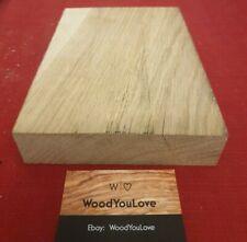 🍁Hardwood Oak Off Cut Block Crafting  L 21.8 cm X W 15 cm X D 3.8 cm (2112 P)