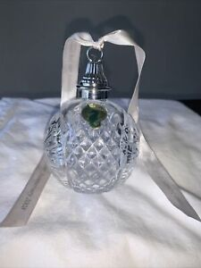 Waterford Glass Crystal 2008 Time Square 100 Years Ball Ornament