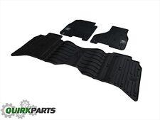 14-17 Dodge Ram 1500 & 13-17 Ram 2500 3500 CREW CAB Rubber Floor Mats Black Set