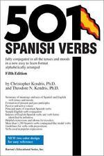 501 Spanish Verbs by Kendris & Kendris