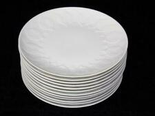 """11 ROSENTHAL LOTUS WHITE SALAD PLATES 7 5/8"""""""