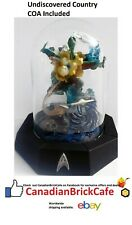 star Trek Franklin mint Sculptures with glass domes Coa the undiscovered country