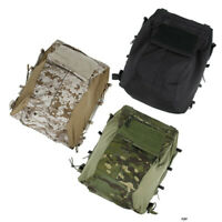 TMC Tactical Vest Pouch Bag Zip Panel for 16-19 AVS JPC2.0 CPC TMC3189