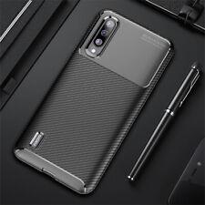 For Xiaomi Mi 9 Lite 9T 10T 5G Note 10 Pro Slim Carbon Fiber Soft TPU Case Cover