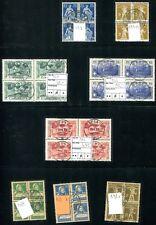 SCHWEIZ 1910-2004 REICHHALTIGE gestempelte VIERERBLOCKSAMMLUNG(V7359e