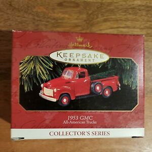 Hallmark Keepsake Ornament 1953 GMC All-American Trucks 1997 #3